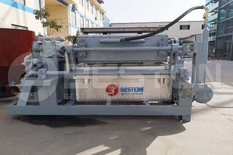 BTF-4-4 Egg Tray Machine to Nigeria