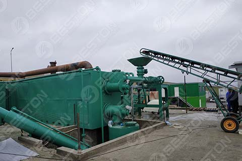 Continuous Pyrolysis Plant in Romania