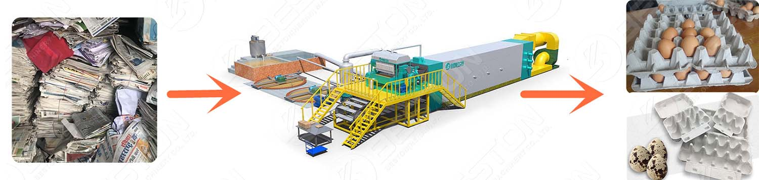 Automatic Egg Tray Machine Design