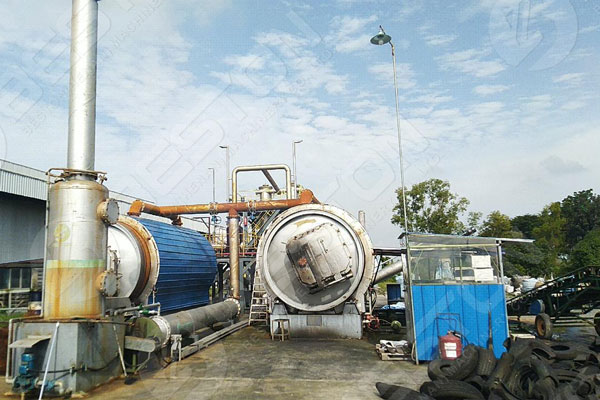 BLJ-10 Pyrolysis Plant For Sale