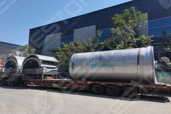 BLJ-16 Pyrolysis Plant For Sale