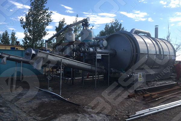Beston Continuous Pyrolysis Plant For Sale