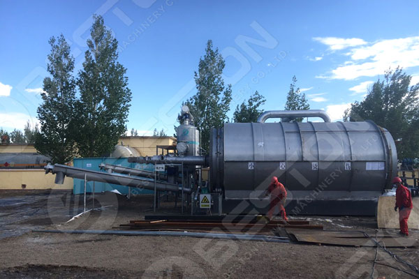 Beston Installed Continuous Pyrolysis Plant
