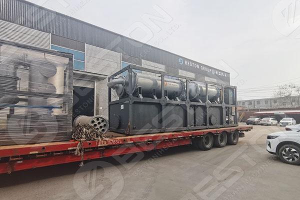 Beston Pyrolysis Plant To Nigeria