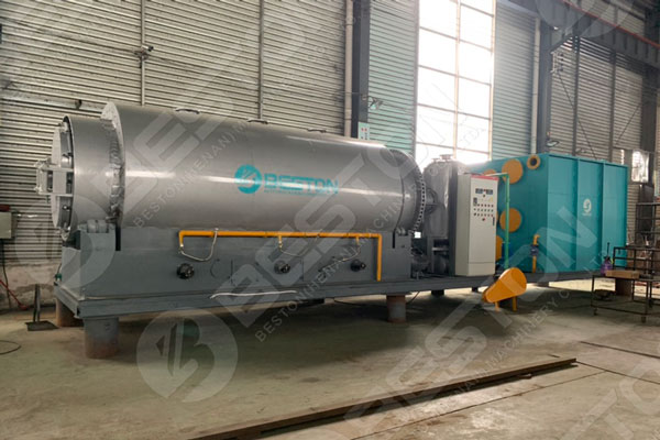 Beston Skid Mounted Pyrolysis Plant For Sale