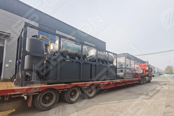 Pyrolysis Machine to Nigeria