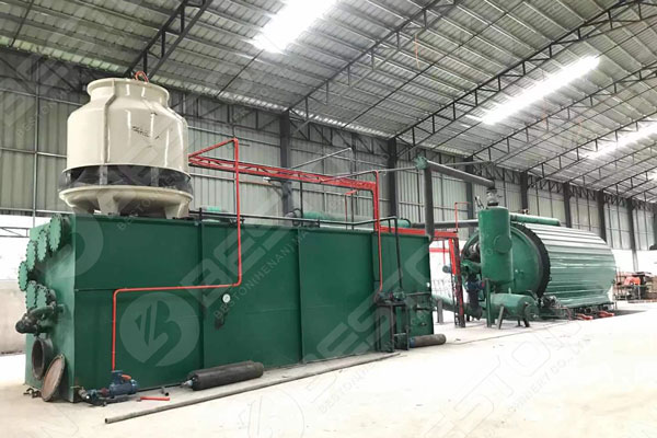 Pyrolysis Plant For Sale in the Philippines