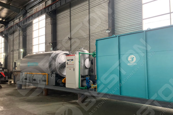 The Latest Skid Mounted Pyrolysis Plant
