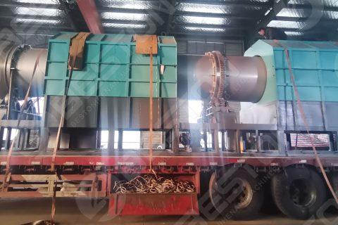 BST-10 Carbonizer Machine to Jiangsu