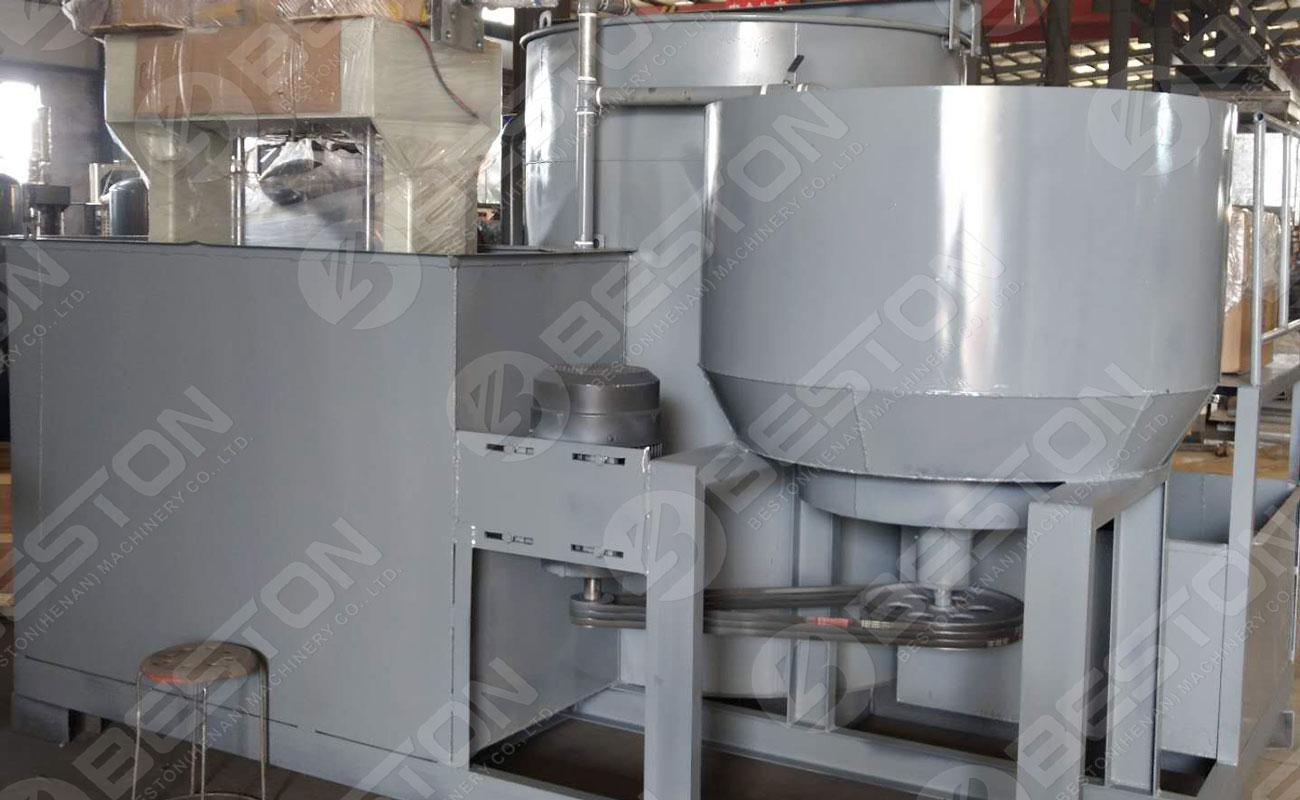 BTF1-3 Egg Tray Making Machine Ready to Poland