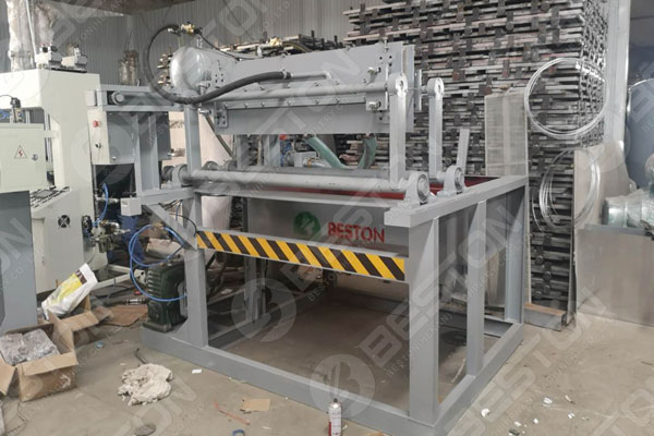 Egg Tray Machine Ready to Indonesia