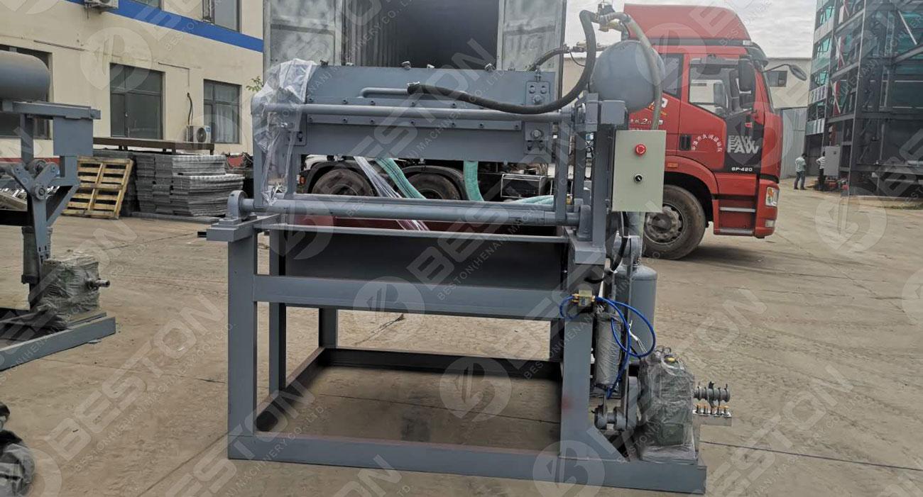 Egg Tray Production Machine to Nigeria
